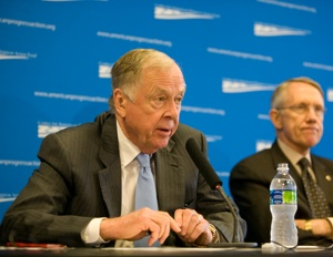 T. Boone Pickens and Harry Reid