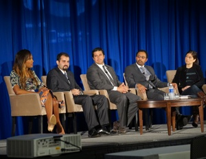 Panelists at the Black Enterprise Entrepreneurs Conference talked about venture capital access. (Image: Patrick Austin/Black Enterprise)