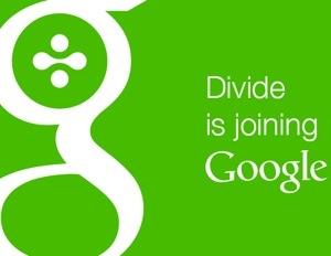 divide google logo