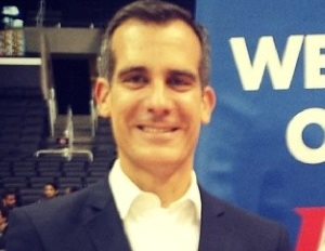 LA Mayor Garcetti expects a lengthy battle with Donald Sterling