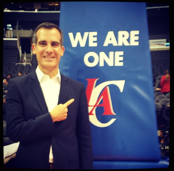 eric-garcetti-clippers-black-enterprise-la-mayor