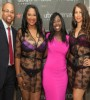 Psyche Terry and husband, Vantoba, showcase Urban Intimates' designs