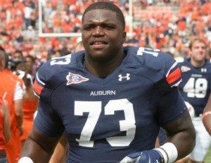 No. 2 NFL draft pick Greg Robinson