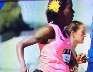 Pregnant Olympian Alysia Montano Completes Race