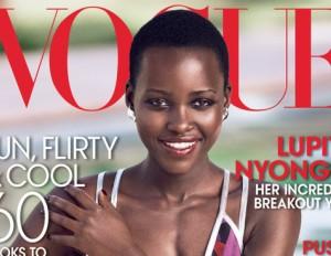 Lupita Nyong'o Voque Cover