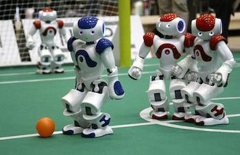 USA Robot To Compete In World Cup Soccer Challenge
