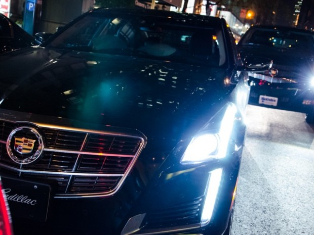 Cadillac was one of the premier sponsors for ABFF 2014.