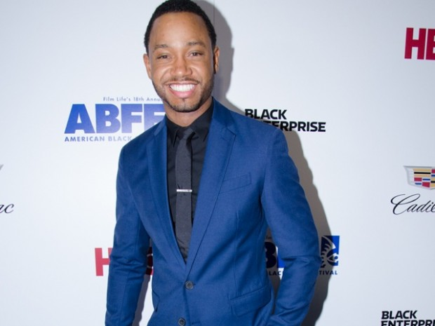 "Terrence J of the ""Think Like A Man"" films walks the red carpet"