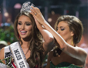 Nia Sanchez crowned Miss USA 2014