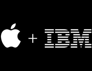 Apple IBM Logo