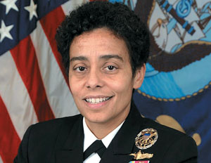 Michelle Howard Becomes Navy's First Female Four-Star Admiral
