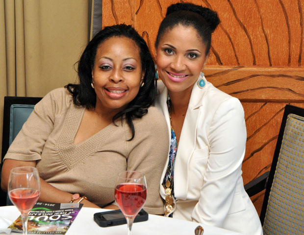 Attendees enjoyed networking, food and refreshments at the brunch event.