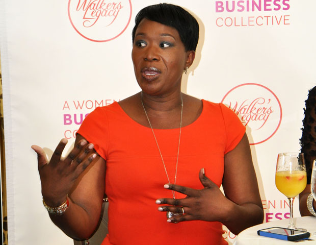 "Joy-Ann Reid of ""The Reid Report"" talks boss moves."