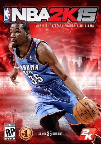 2K Sports Debuts Kevin Durant Cover