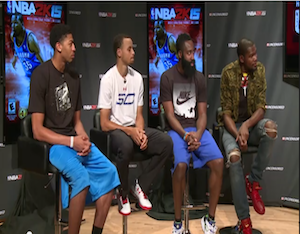 Kevin Durant Claims 'Best Shooter' Title At NBA 2K15 'Uncensored' Event