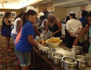 Black Enterprise Golf and Tennis Challenge, Day 3: Celebrity Master Chef Challenge