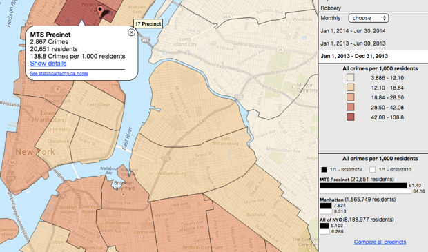 nyc-crime-map - Black Enterprise on