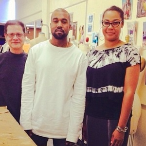 Kanye West Teaches a Fashion Class in Los Angeles