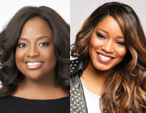 Actresses Sherri Shepherd and Keke Palmer (Image: File)