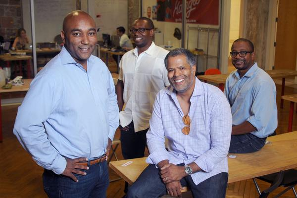 Anthony Gee, from left, Chidi Afulezi, Guy Primus and James Harris have formed The Core Venture Studio, an up to $15 million fund, to invest in media, technology and entertainment startups.