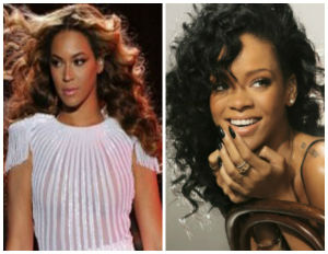 BE_Beyonce and Rihanna
