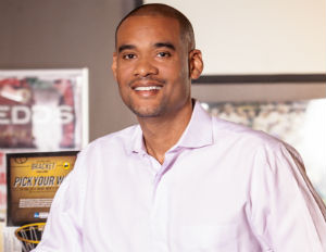 2014 Black Enterprise Small Business of the Year Honoree Karim Webb. (Image: File)