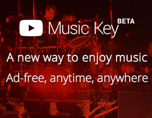 YouTube's New Music Key Is Ad-Free Music