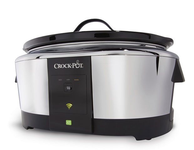 Belkin Crock Pot Smart Slow Cooker $129.99Slow cooking (naturally) takes a while, and you're someone with a lot of things to take care of before dinner is ready. Belkin's got you covered with its Belkin Crock Pot Smart Slow Cooker . You can control the temperature and length of cooking from your smartphone, making dinner as easy as a tap. It also links up with Belkin's WeMo system so you won't need any new gear if you're already using the company's smart lights.