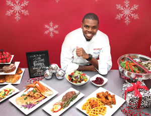 "Chef James ""JR"" Robinson presents a holiday brunch"