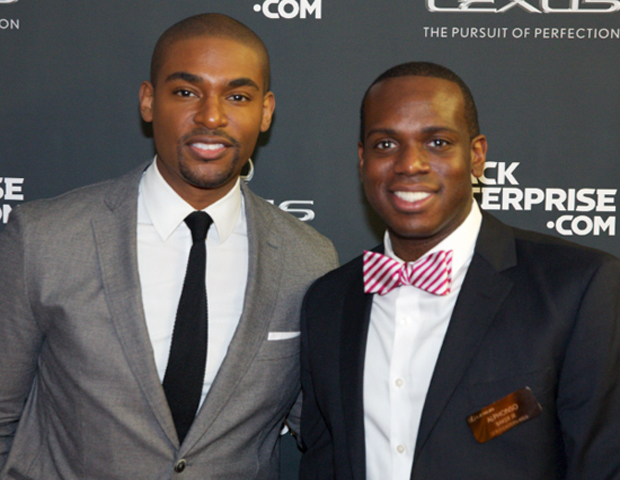 Our World with Black Enterprise host Paul C. Brunson joins Alphonso Baker of Lexus on the red carpet.