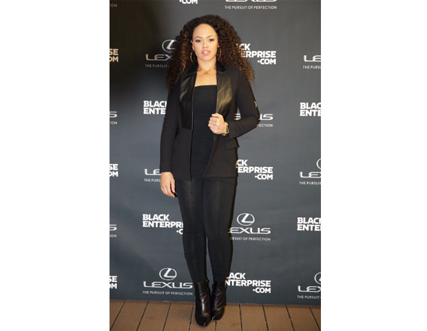Music artist Elle Varner stopped by to celebrate the Good Life.
