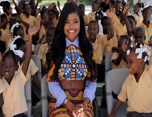 Karen Civil Talks Haiti Donation, Fighting Fears and Taking Career Risks