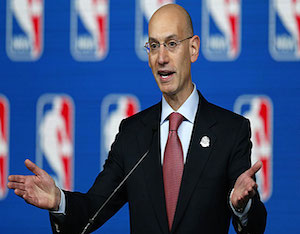NBA Commissioner Adam Silver: 'Legalize Sports Betting'