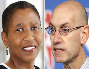 Adam Silver Responds To NBPA Chief Michele Roberts