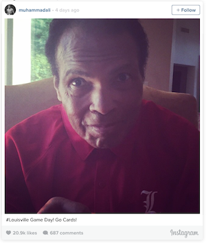 Still The Greatest! Muhammad Ali's Selfie Knocks Us Out