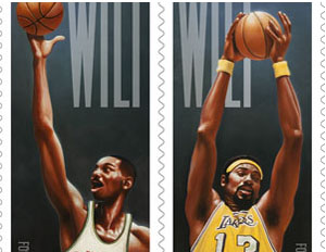 Wilt Chamberlain: First NBA Player to Grace Postage Stamp
