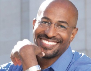 Head shot of Van Jones
