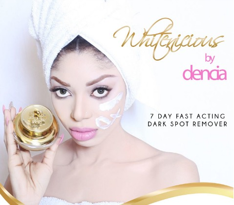 Dencia's Whitelicious made global news as controversial upon its release and marketing by the African pop star. (Image: File)