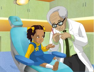 Children's Book Author Uses Black Characters to Fight Dentist Fear