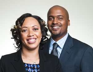 Ronnie and Lamar Tyler, husband-and-wife partners of Tyler New Media. (Image Courtesy of Subjects)