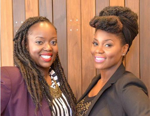 Jessica Boyd and Maureen Ochola (Image: File)