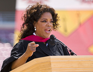 Oprah to Guest Lecture Stanford Students on A Meaningful Life