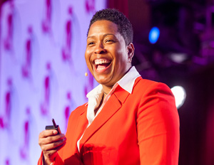 Day 2: Vernice 'FlyGirl' Armour Delivers Dynamic Keynote on Leaping Into Your Purpose
