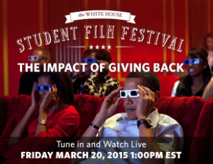 15 Student Filmmakers Selected to Show Their Videos at 2nd Annual White House Student Film Festival