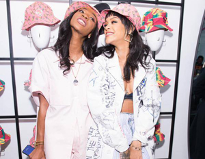 Rihanna's BFF Melissa Forde Designs Hat Collection