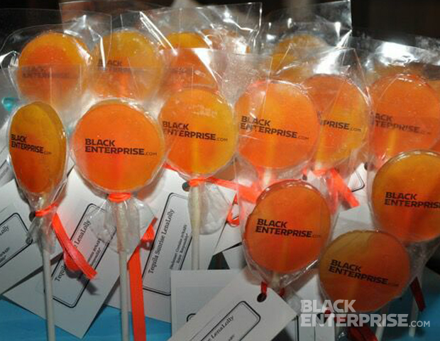 Guests also enjoyed lolly pops by Lena Mae's Gourmet.