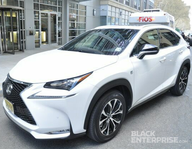 The latest Lexus NX was the centerpiece of this VIP event.