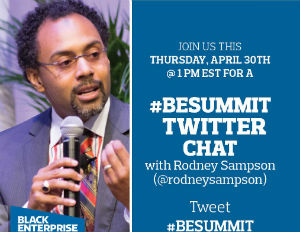 Twitter Chat: Rodney Sampson to Talk Securing Angel Investors