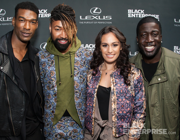 """On April 24, Lexus and Black Enterprise presented its second event celebrating """"The Good Life."""" Women of Power TV personality Dariany Santana hosted the private affair, as the who's who in entertainment, media, fashion and business came together to highlight what it means to live life to its fullest.  Among """"The Good Life"""" featured guests, who were interviewed in the latest Lexus NX, were Natasha Eubanks, founder of popular celebrity and lifestyle blog, TheYBF.com, supermodel Bobby Roache, and singer Esnavi. Celebrity guests included fashion stylist (of the Queen Bey herself) and creative director Ty Hunter, Kevin Thompson, the face and voice of AOL's Moviefone, actor Julito McCullum (of The Wire, entertainment exec Lenny the Barber, and more. Black Enterprise social media manager, Sirita Wright, hosted a Google Hangout on site."""