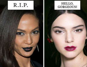'Cosmo' Uses Women of Color for 'Beauty Trends That Need To Die'